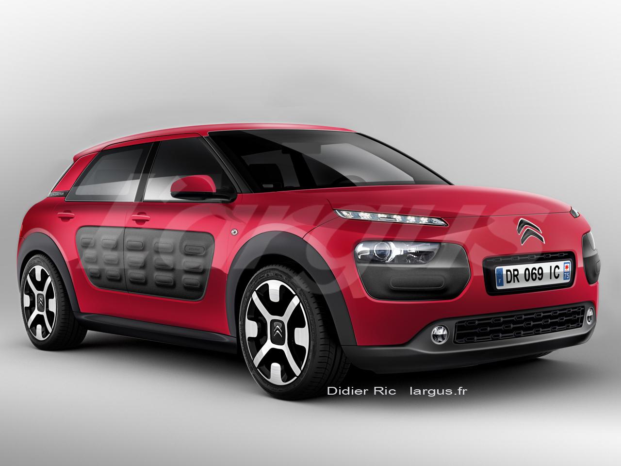Peugeot / Citroen Scoop-Citroen-c4-Cactus-vue-avant
