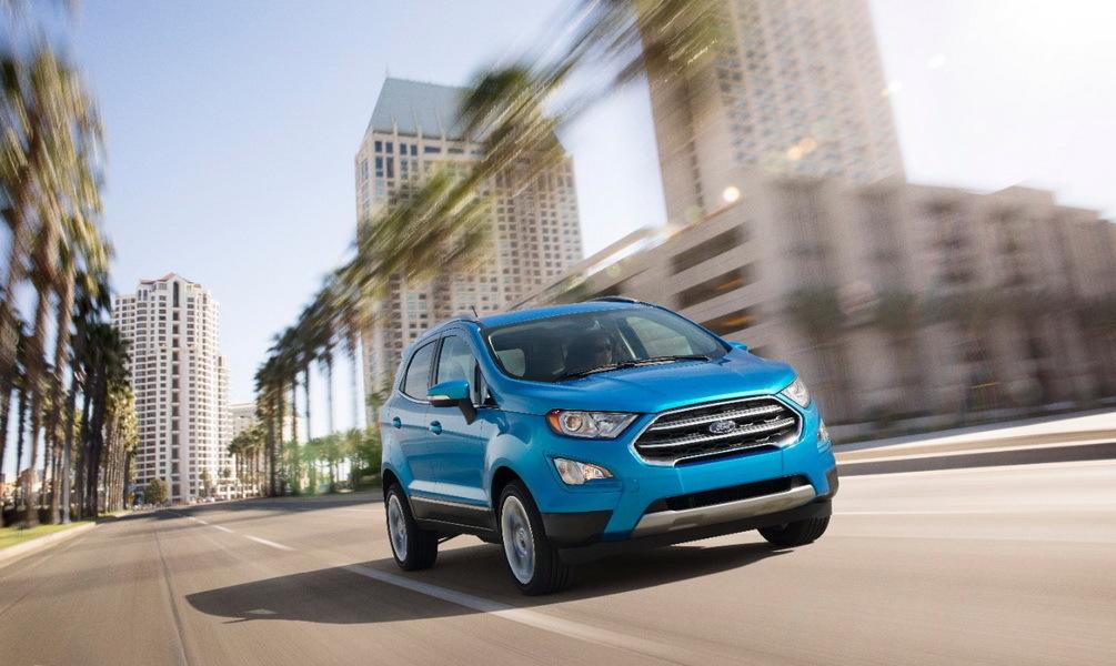 2016 - [USA] Los Angeles Auto Show Ford-ecosport01