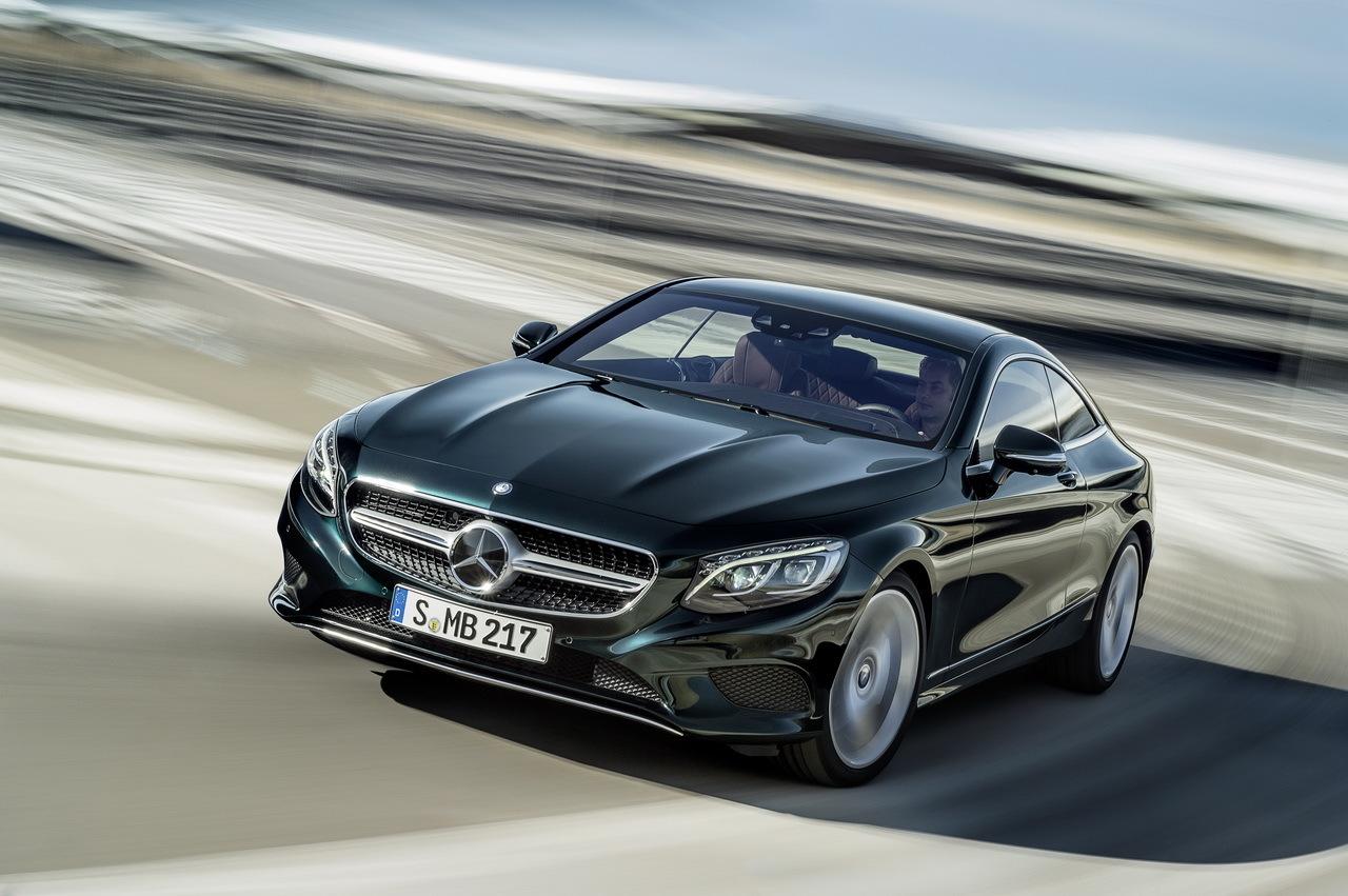 L'intégration des capteurs dans le design Mercedes-calsse-s-coupe-2014-geneve-09