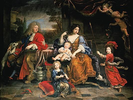 Louis-Joseph de France, premier Dauphin 1002615-Pierre_Mignard_la_Famille_du_Grand_Dauphin
