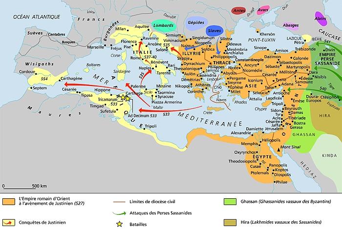 TURQUIE : Economie, politique, diplomatie... - Page 40 1011201-LEmpire_romain_dOrient_%C3%A0_la_mort_de_Justinien