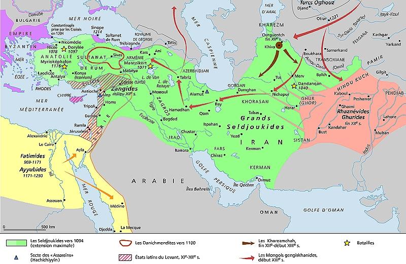 TURQUIE : Economie, politique, diplomatie... - Page 40 1011346-Les_Seldjoukides