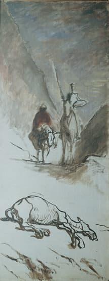 Questionnaire alla Proust... 1312381-Honor%C3%A9_Daumier_Don_Quichotte_et_la_mule_morte