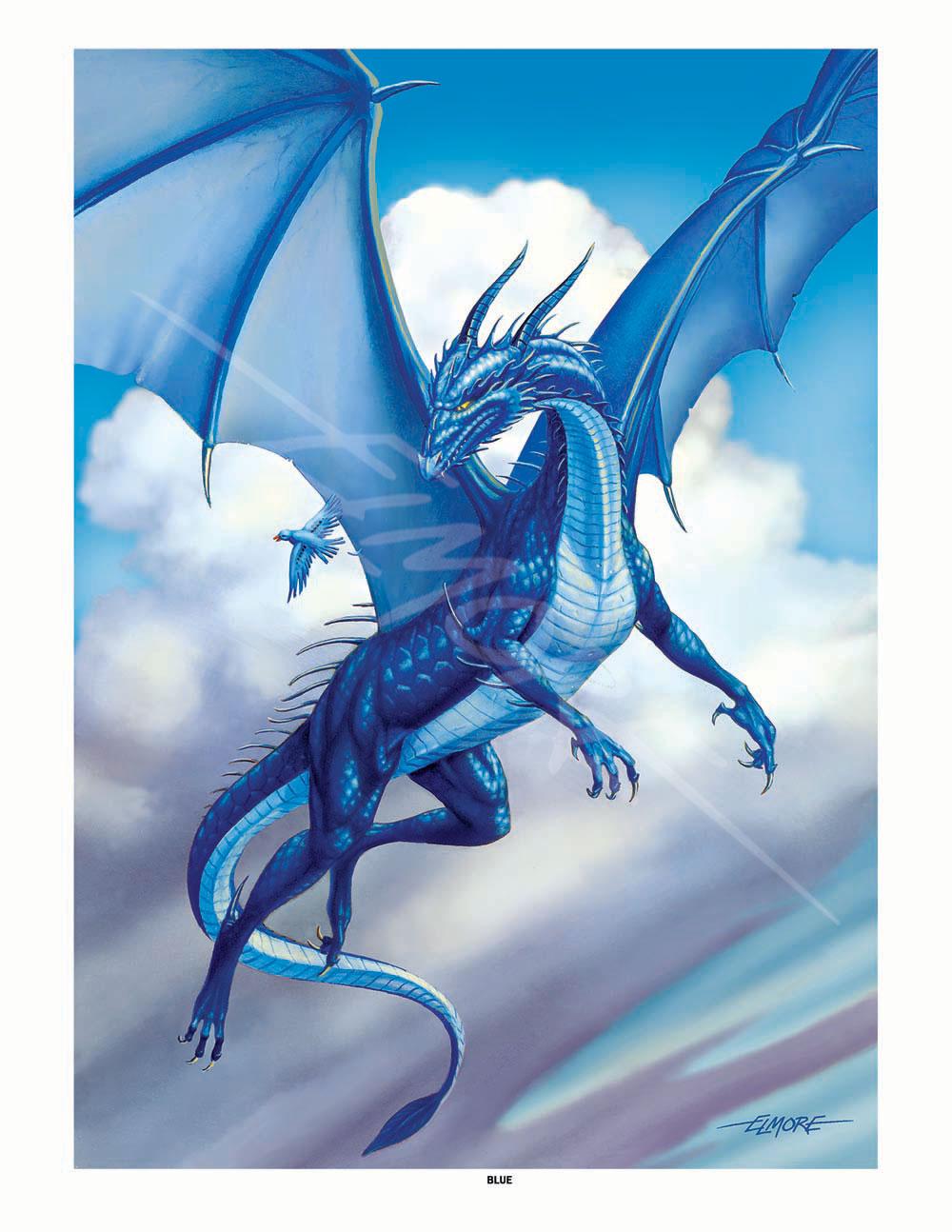 Krystal, the Exile BLUE-DRAGON