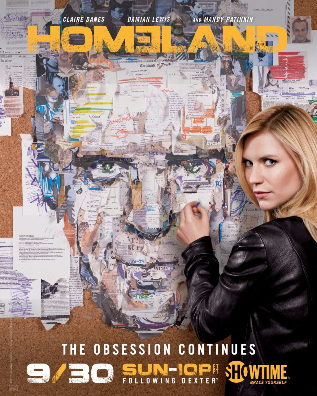 Homeland (Serie TV) - Página 2 Homeland-Poster-Obsesion