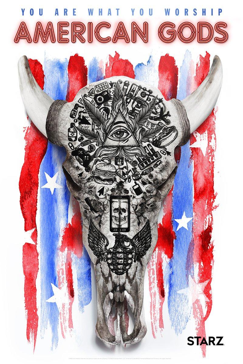 CONSPIRANDO,QUE ES GERUNDIO - Página 4 American-gods-poster