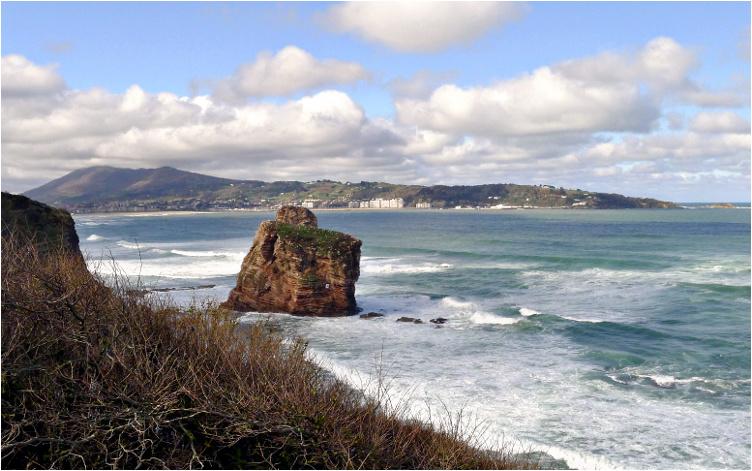La côte à Biarritz P1010216