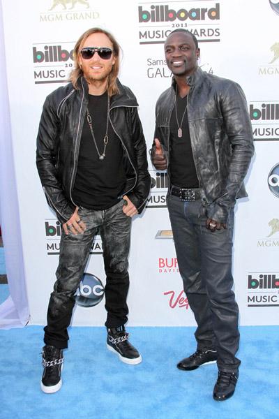 ¿Cuánto mide David Guetta? - Altura real: 1,80 - Real height Akon1