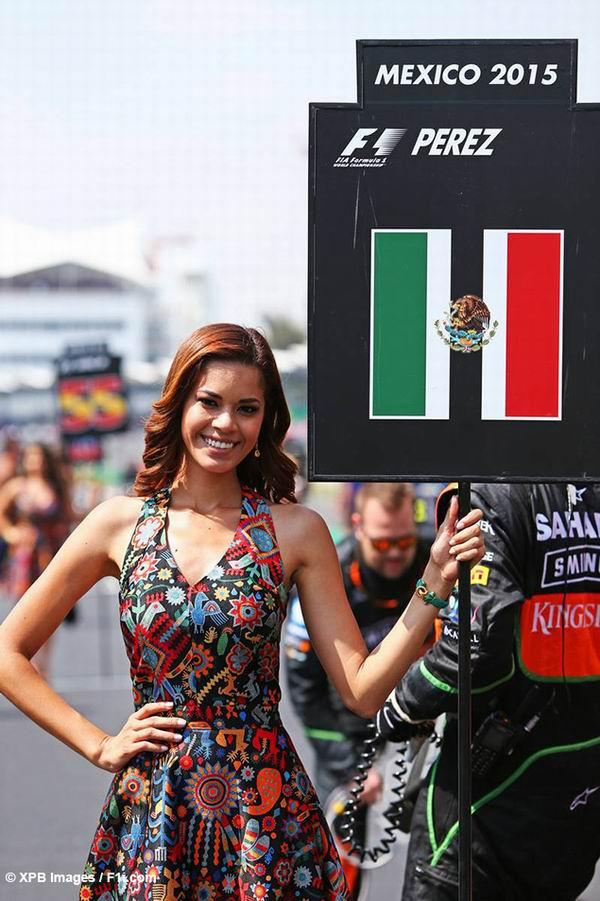 Les Filles sur la grille en F1 - 2015 2015-11-01_mexique_30