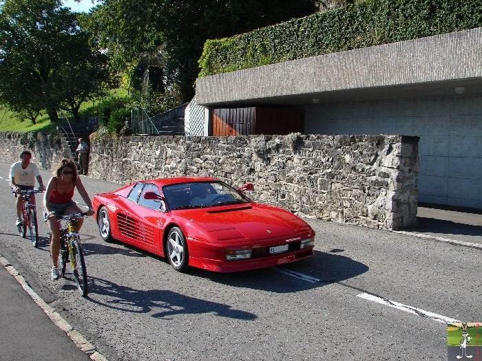 Ferrari sur les routes et autoroutes 0004_Ferrari_Bellevue_Suisse_01