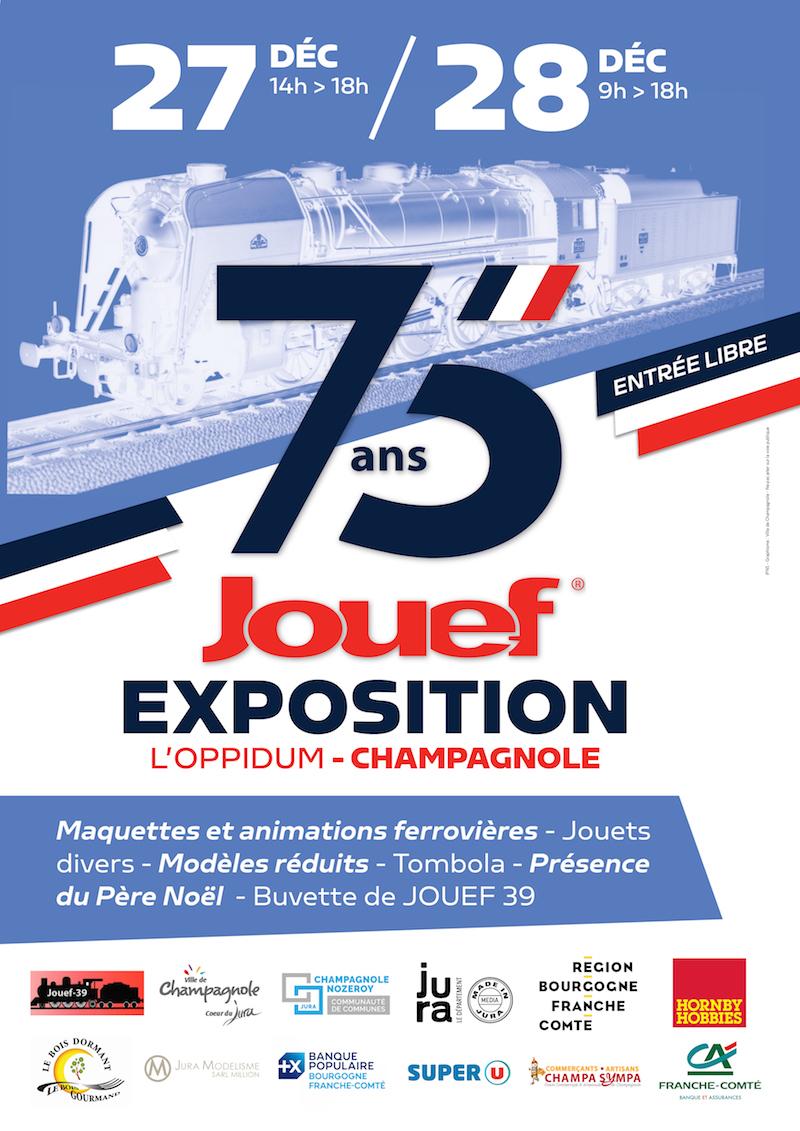 [39] Champagnole : Exposition 75 ans de Jouef à l'Oppidum - 28 Décembre 2019 2019-12-28_Jouef_Champagnole_001