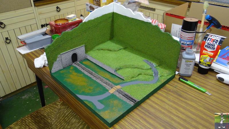 DIGIBERG : Diorama pour la prise de photos du matériel roulant... Diorama_N_0019