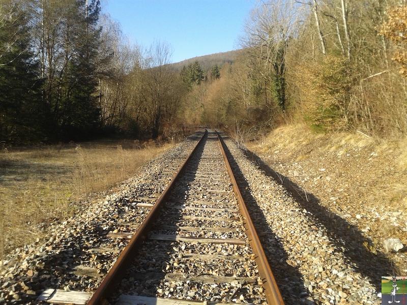 [39-FR] : 2019-01-04 : Vestiges ligne St-Claude (39) <--> Oyonnax (01) 2019-01-04_train_stc_O_02