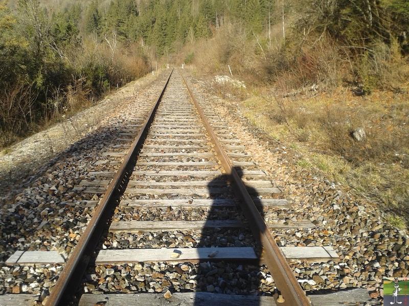 [39-FR] : 2019-01-04 : Vestiges ligne St-Claude (39) <--> Oyonnax (01) 2019-01-04_train_stc_O_08