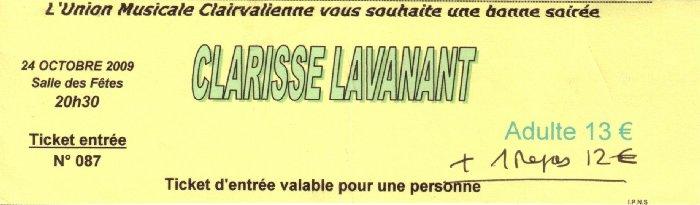 Clarisse Lavanant en concert à Clairvaux les Lacs (39) le 24-10-2009 2009-10-24_clarisse_lavanant_01