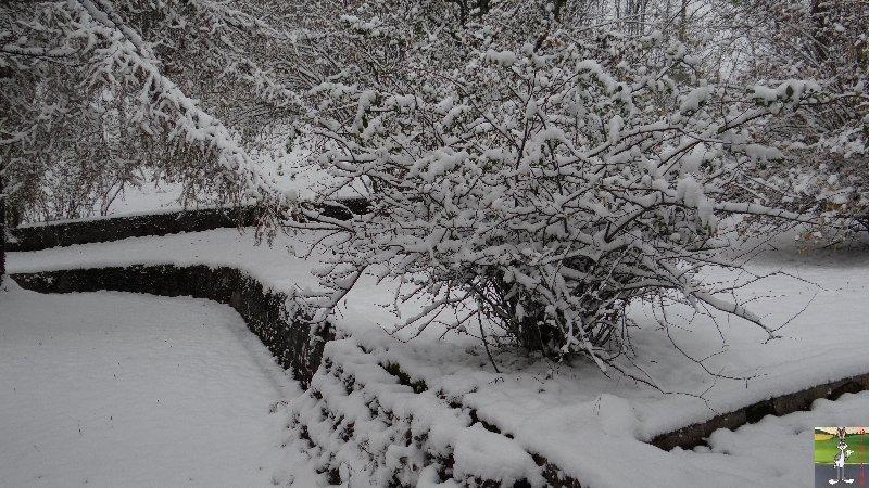 2012-10-27 : Première neige à La Mainmorte (39) 2012-10-28_neige_02