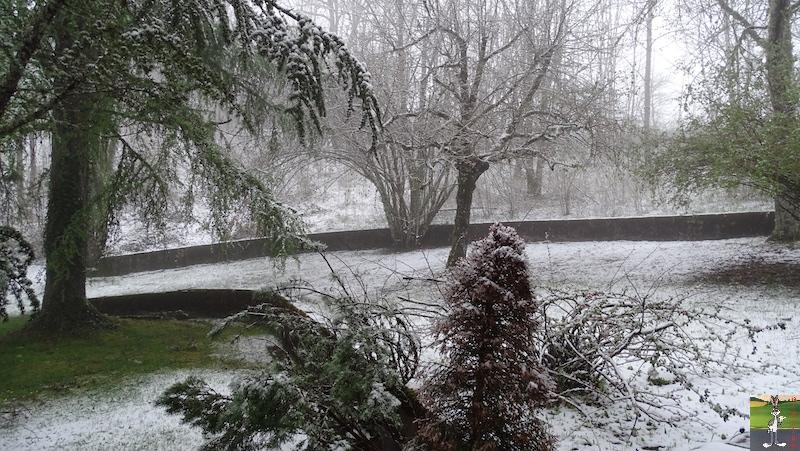 2019-04-28 : Et rebelotte, retour de la neige à La Mainmorte (39) 2019-04-28_neige_02