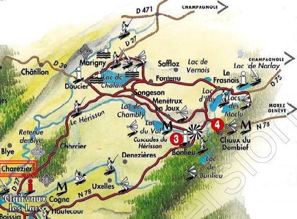 [39] : Les Quatre Lacs - La Chaux-du-Dombief 0001
