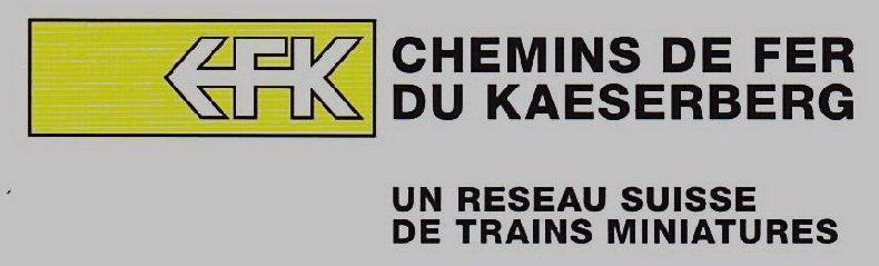 Les Chemins de Fer du Kaeserberg - Suisse -  Logo