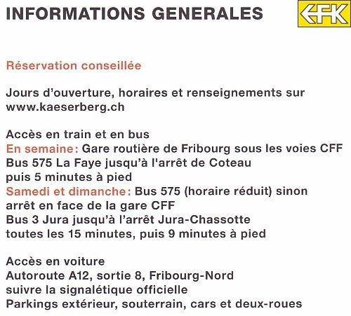 Les Chemins de Fer du Kaeserberg - Suisse -  Info_01