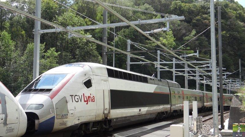 Réélectrification Bellegarde-Genève - Longeray (01) 005