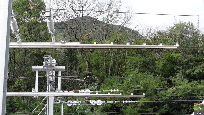 Réélectrification Bellegarde-Genève - Longeray (01) 008