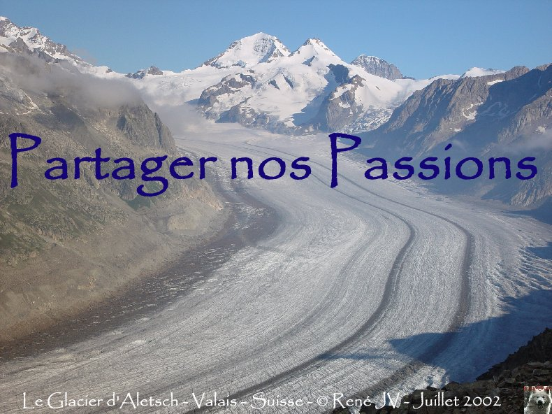 Partager nos passions