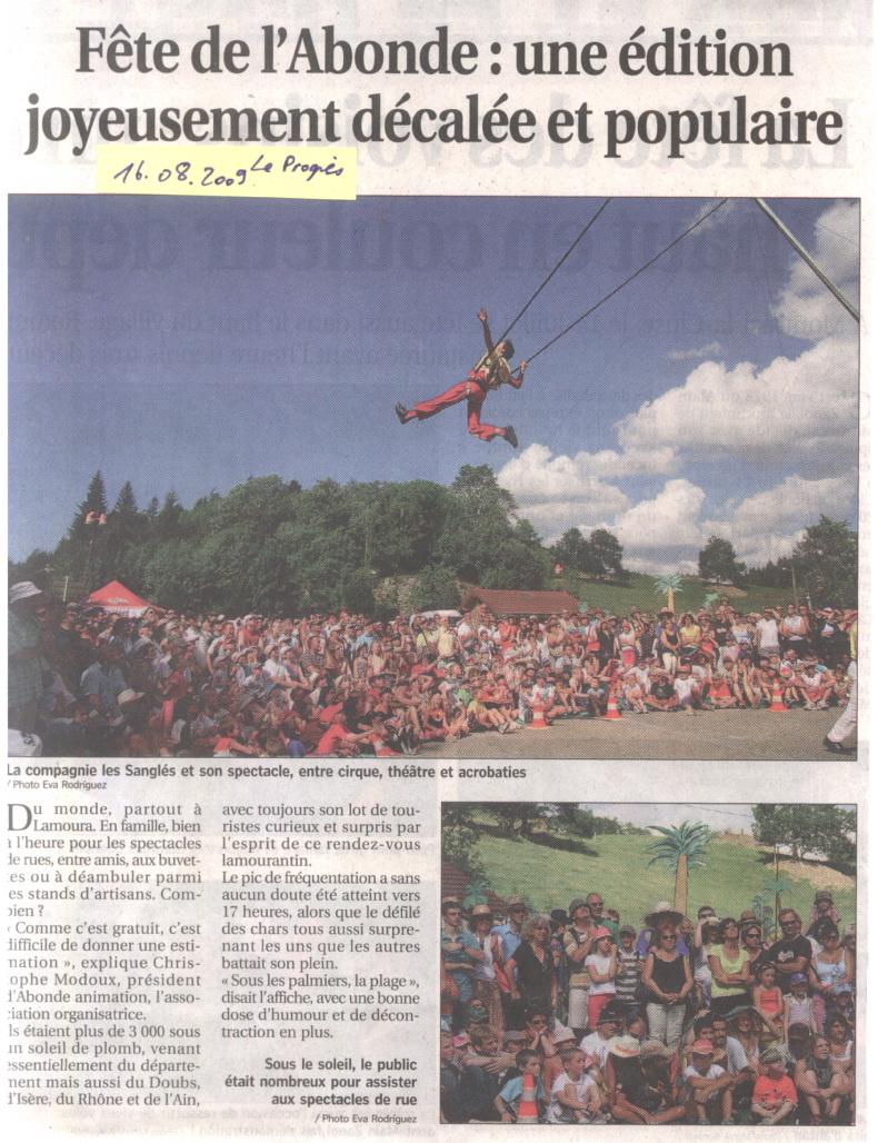La Fête de L'Abonde - Lamoura 15/08/2009 Ab01