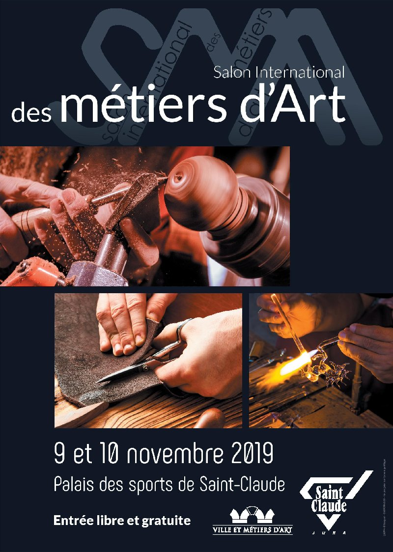 2019-11-09 et 10 : Salon International des Métiers d'Art - St-Claude (39) 2019-11-0910_SIMA_01