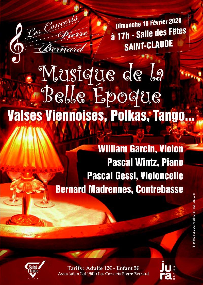 [39] - 2020-02-16 : Les Concerts Pierre-Bernard : Musique de la Belle Époque à St-Claude 2020-02-16_Concert_St-Claude_01