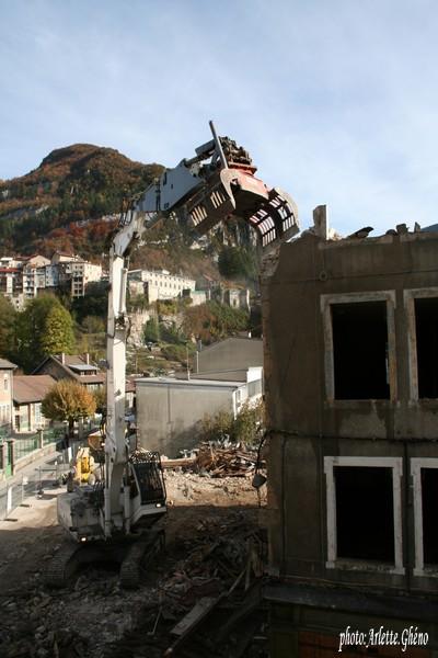 Démolition d'immeuble au Fb Marcel à St-Claude (39) Fbm_14