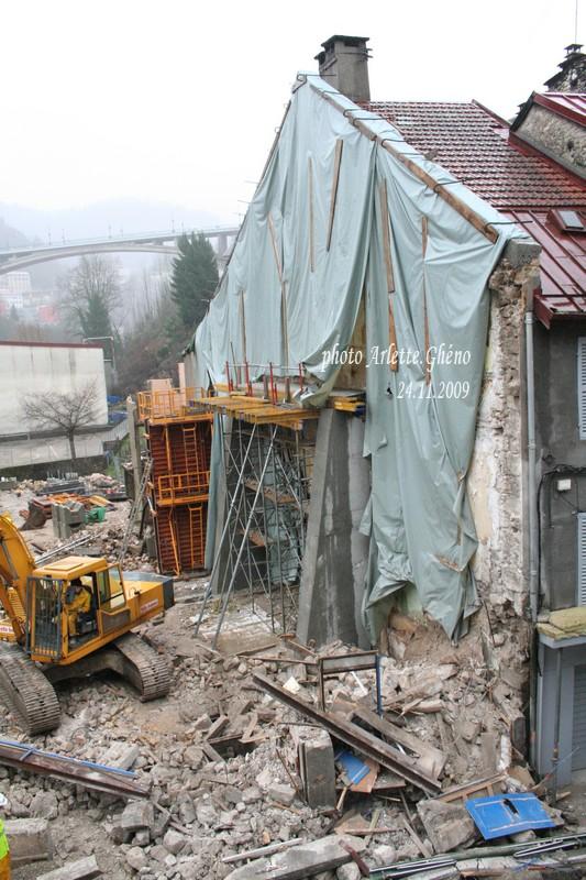 Démolition d'immeuble au Fb Marcel à St-Claude (39) Fbm_18