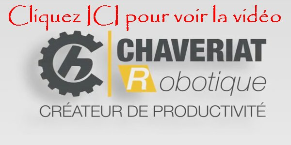 2016-01-14 : Chaveriat Robotique - Moirans en Montagne (39) - Chargement / déchargement de machine(s) Videos