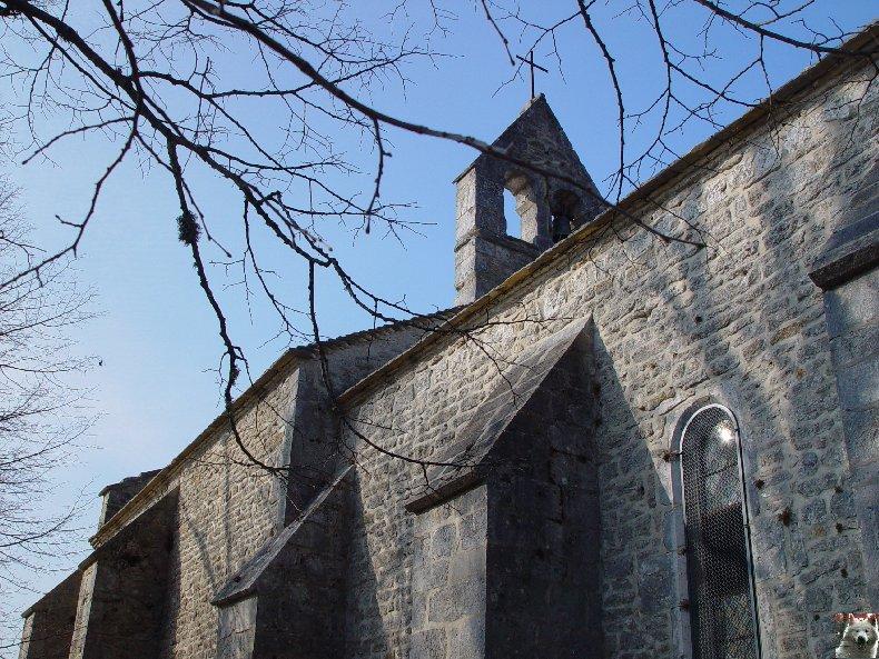 004 - St-Romain / Pratz (39) La chapelle de St-Romain de Roche 0007