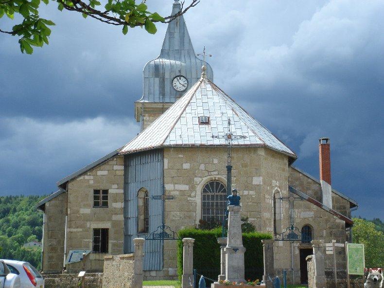 009 - Les Bouchoux (39) L'église de l'Assomption 0028