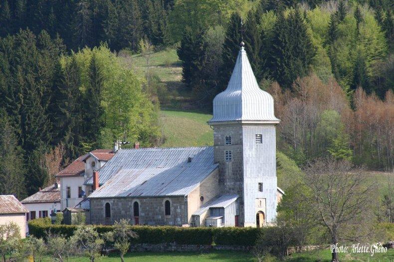 009 - Les Bouchoux (39) L'église de l'Assomption 0035a