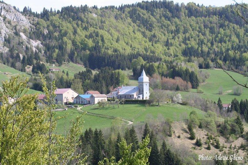 009 - Les Bouchoux (39) L'église de l'Assomption 0035b
