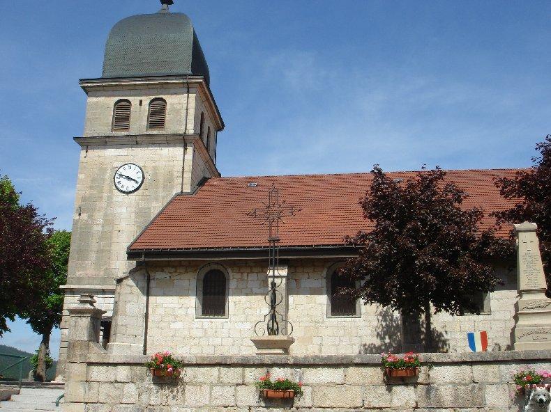 018 - Les Rousses (39) L'église St Pierre 0126
