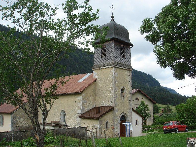 015 - Lajoux (39) - Mijoux (01) - L'église Saint-Jacques et Saint Christophe  0166