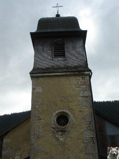 015 - Lajoux (39) - Mijoux (01) - L'église Saint-Jacques et Saint Christophe  0167