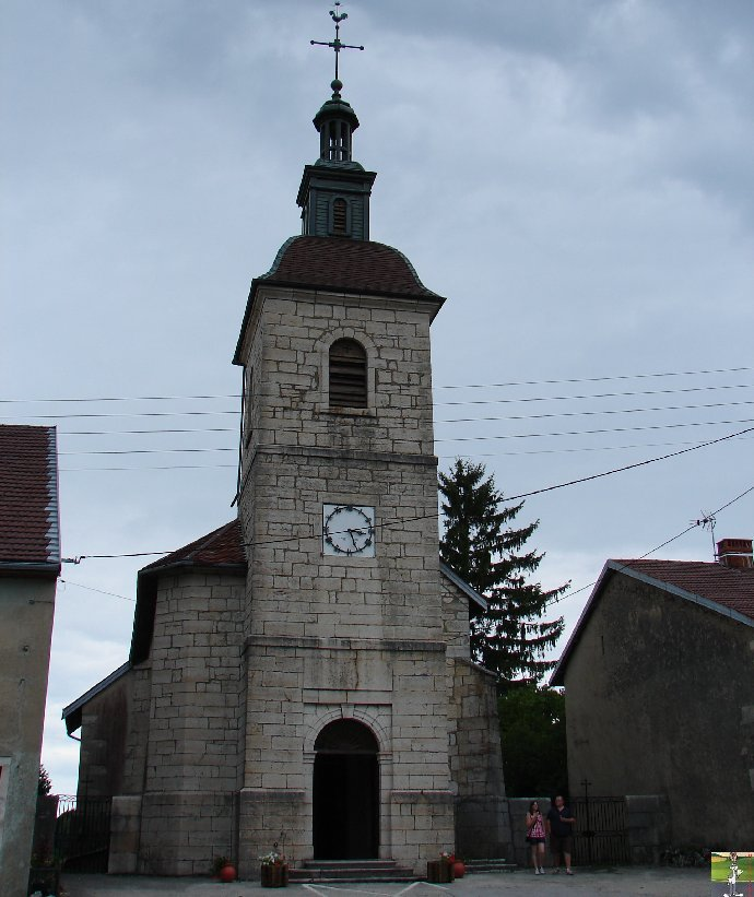 027 - Bonlieu (39) L'église St Jean Baptiste 0342