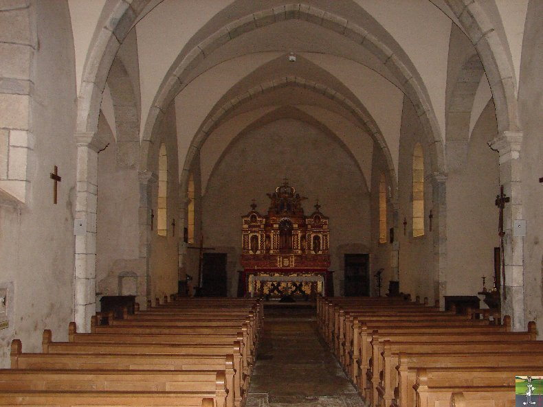 027 - Bonlieu (39) L'église St Jean Baptiste 0345
