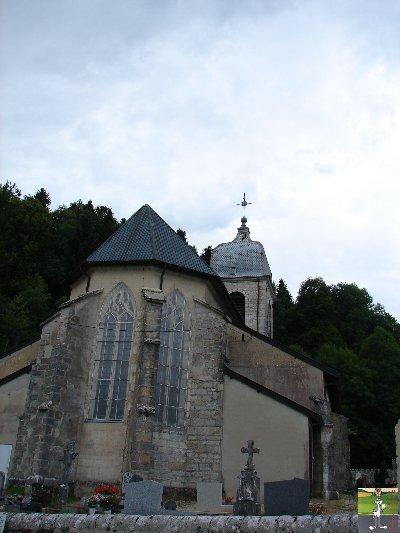029 - La Chaux des Crotenay (39) L'église Ste Marguerite 0382