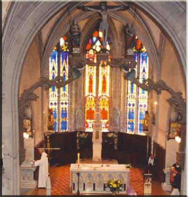 029 - La Chaux des Crotenay (39) L'église Ste Marguerite 0386
