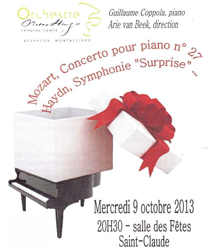L'orchestre Victor Hugo - Franche Comté à St-Claude le 9/10/2013 000