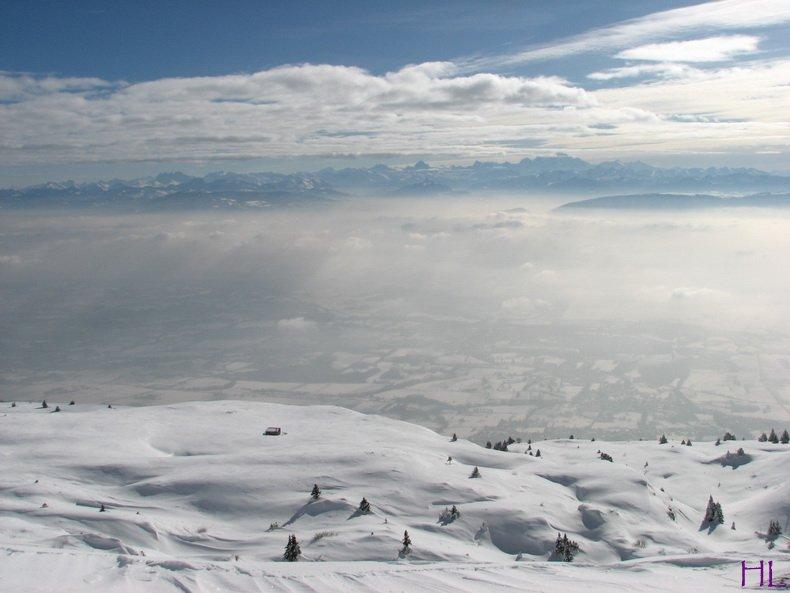 Au sommet de la Haute Chaine - Le Crêt de la Neige - 17/02/2010 0004