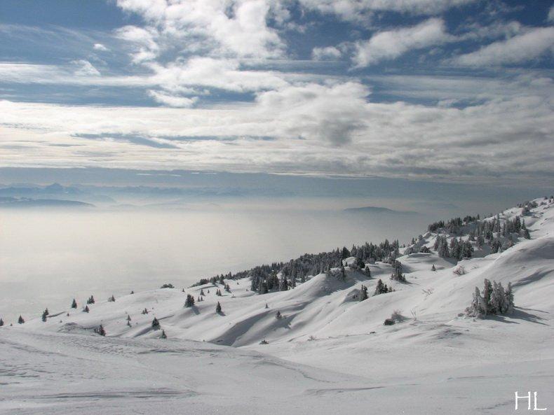 Au sommet de la Haute Chaine - Le Crêt de la Neige - 17/02/2010 0016