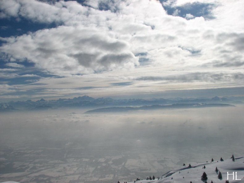 Au sommet de la Haute Chaine - Le Crêt de la Neige - 17/02/2010 0017