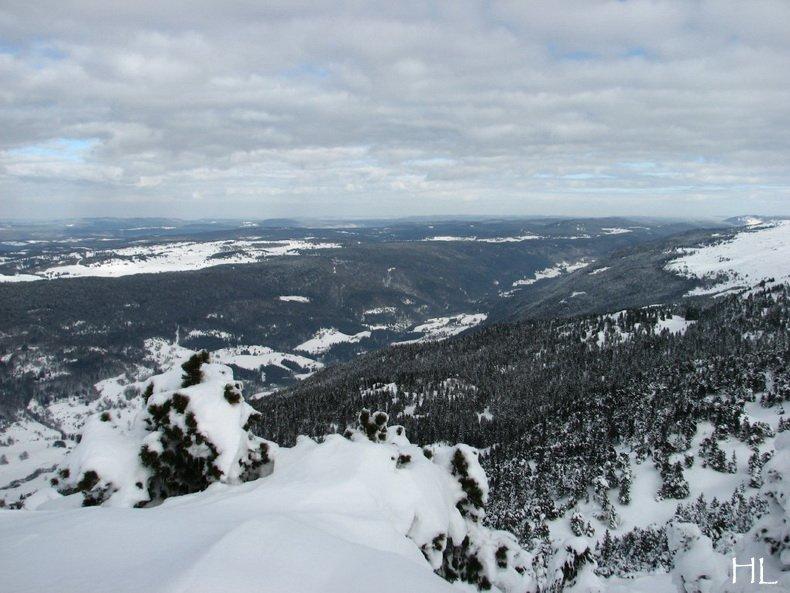 Au sommet de la Haute Chaine - Le Crêt de la Neige - 17/02/2010 0035