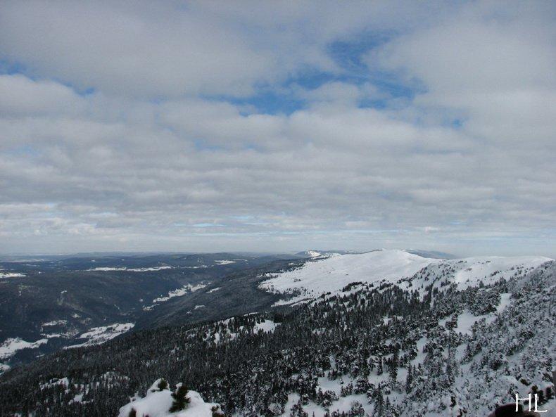 Au sommet de la Haute Chaine - Le Crêt de la Neige - 17/02/2010 0037